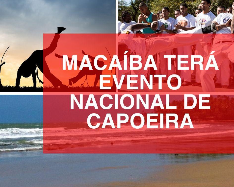 Evento nacional de capoeira