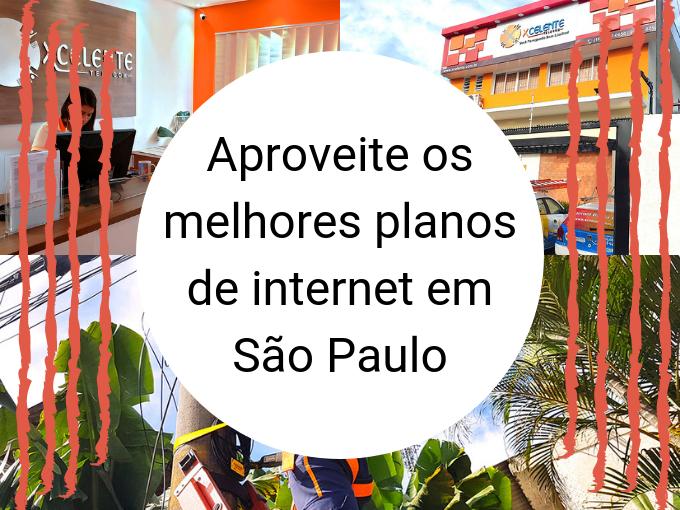 Aproveite os melhores planos de internet em São Paulo
