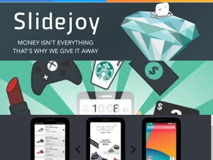 Ganhe ao desbloquear a tela do seu celular com SlideJoy