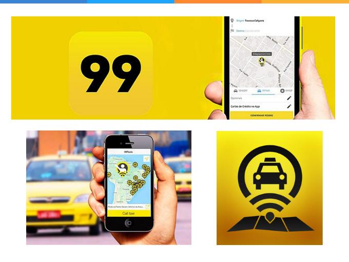 Aproveite o serviço oferecido pela 99 taxi