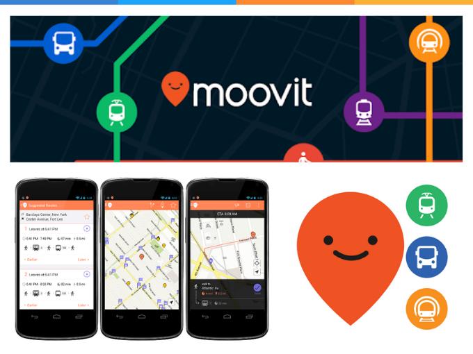 Moovit: Conheça a programação de transporte público