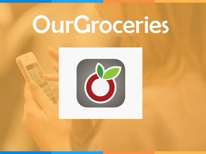 Faça suas compras online com OurGroceries