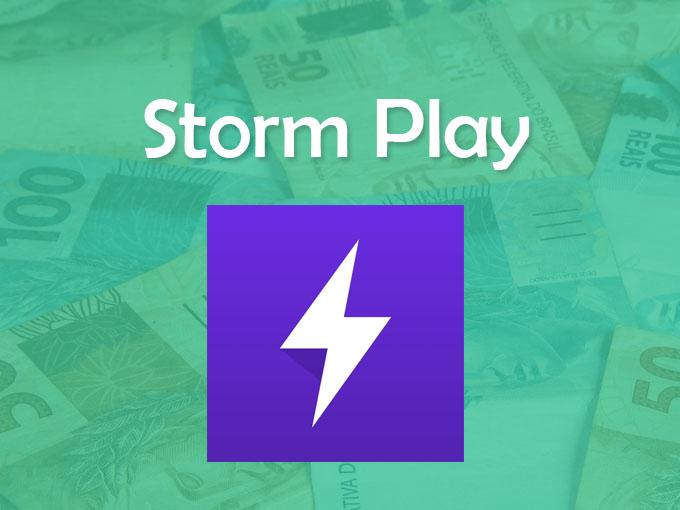 Apps ideais para ganhar Bitcoins no celular: Storm Play