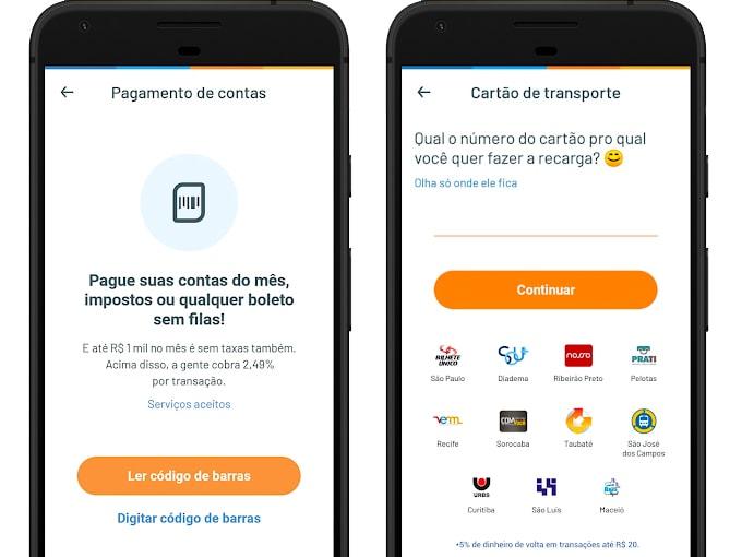 aplicativo para pagar boleto