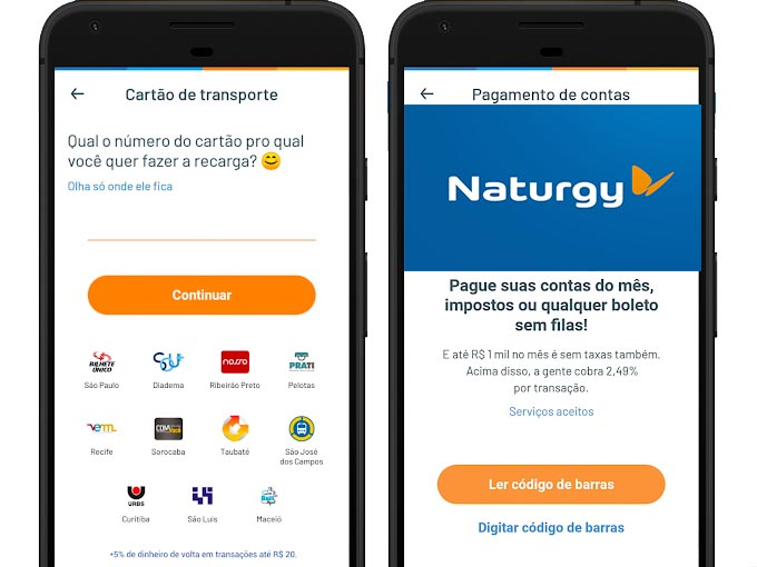 pagamento naturgy aplicativo
