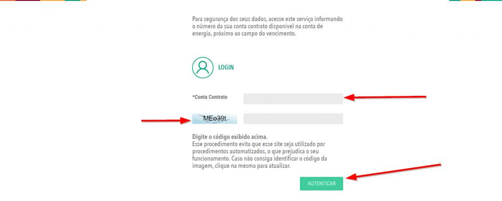 accesar site cosern conta contrato