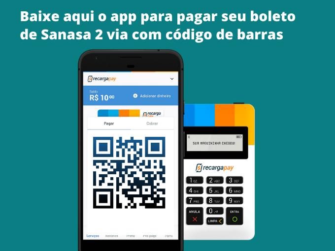 Baixe o app para pagar com codigo de barras