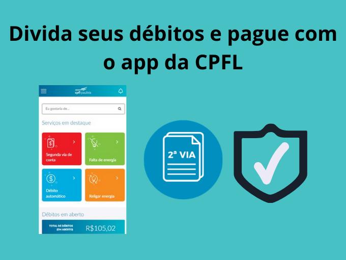 Parcele e pague com o aplicativo Cpfl