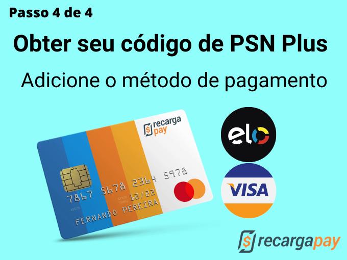 Passo 4 de 4 para Obter seu código de PSN Plus (1)