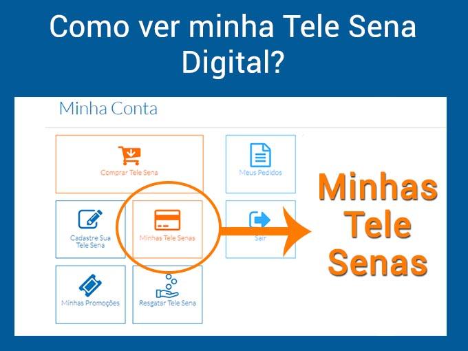Como ver minha Tele Sena Digital