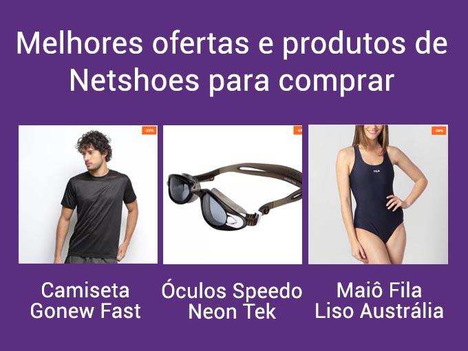 melhores ofertas netshoes