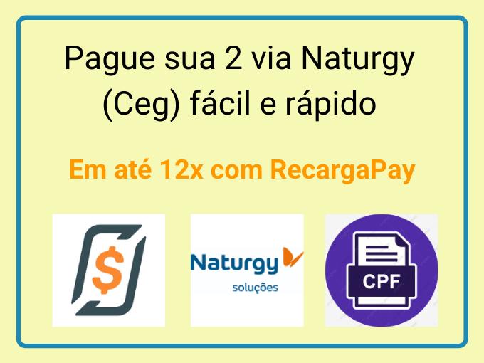 Pague sua 2 via Naturgy (Ceg) fácil e rápido
