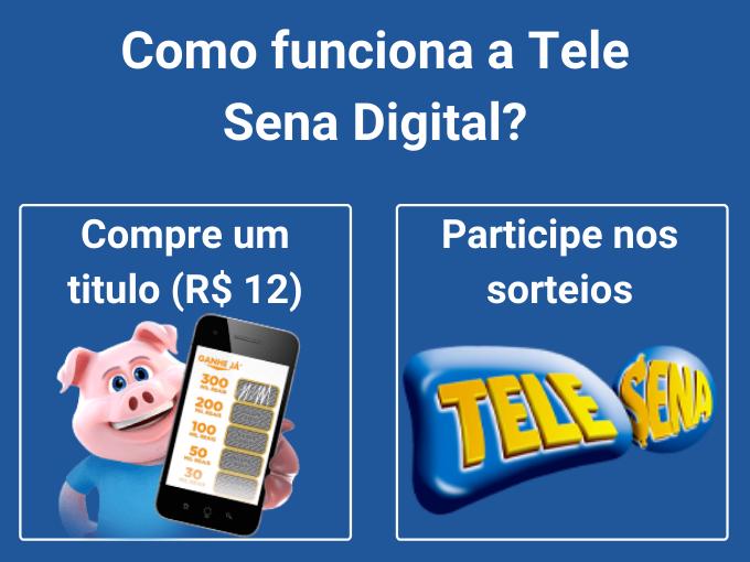 Como funciona a Tele Sena Digital?