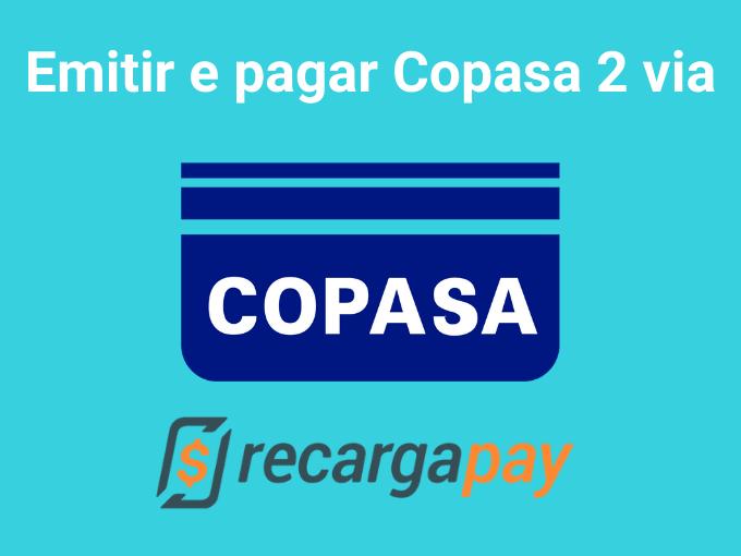 Emitir e pagar Copasa