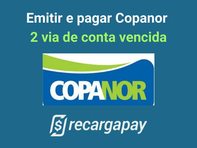 Emitir e pagar Copanor 2 via