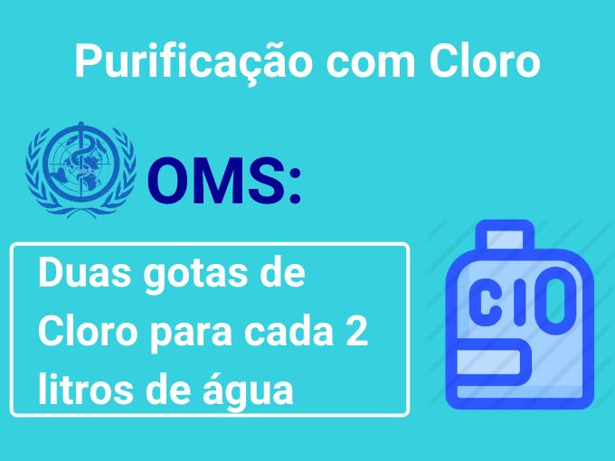 Purificação com cloro